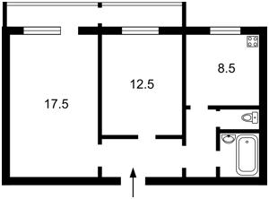 Квартира Драйзера Т., 6а, Київ, R-29734 - Фото2