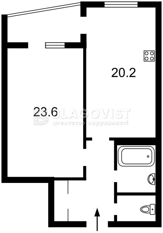 Квартира H-45559, Ирпенская, 69б, Киев - Фото 3