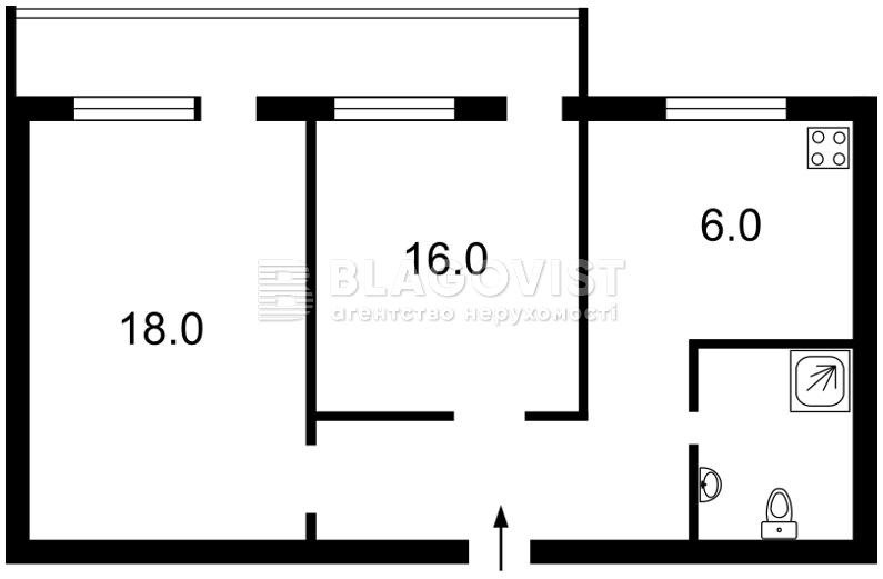 Квартира D-35688, Соломенская, 4/2, Киев - Фото 4