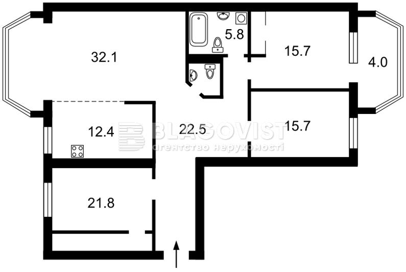 Квартира Z-570397, Макеевская, 10б, Киев - Фото 6