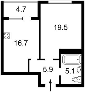 Квартира Драгомирова, 17, Київ, Z-556528 - Фото2