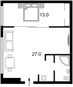 Квартира М.Житомирська, 15, Київ, Z-582627 - Фото2
