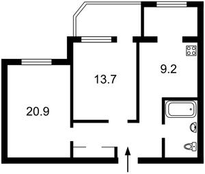 Квартира Ахматовой, 31, Киев, Z-592758 - Фото2