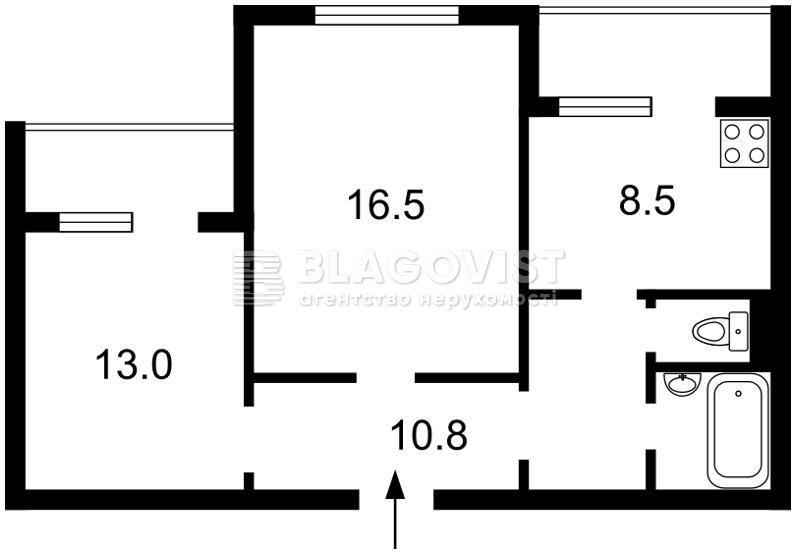 Квартира R-14994, Салютная, 42/46, Киев - Фото 4