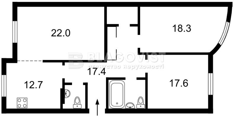 Квартира H-45543, Шота Руставелі, 44, Київ - Фото 6