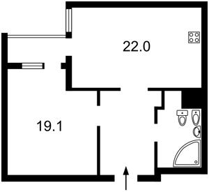 Квартира Вышгородская, 45, Киев, Z-1777135 - Фото2