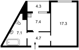 Квартира Ломоносова, 85а, Київ, D-35727 - Фото2