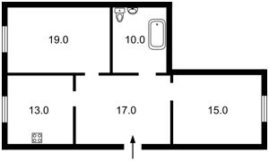 Квартира Макеевская, 8, Киев, Z-597828 - Фото2