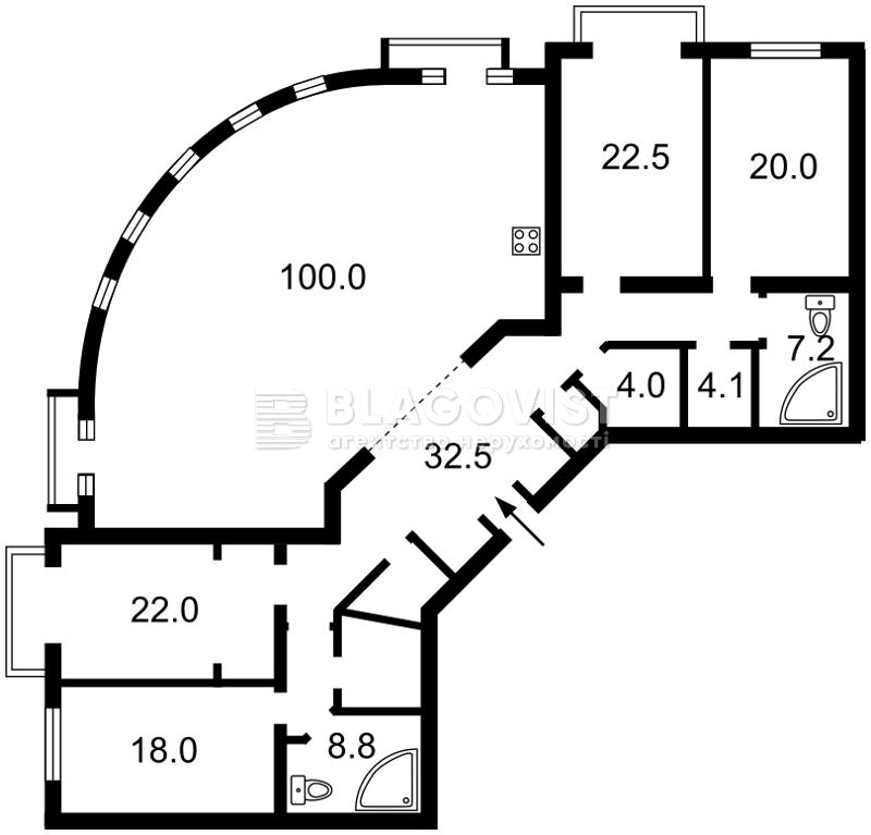 Квартира C-107004, Ирининская, 5/24, Киев - Фото 5