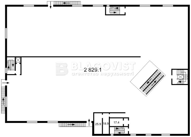 Нежитлове приміщення, H-45629, Гостомельське шосе, Гостомель - Фото 2
