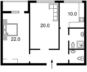 Квартира Гавела Вацлава бульв. (Лепсе Ивана), 6/7а, Киев, Z-596020 - Фото2