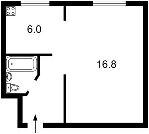 Квартира Джона Маккейна (Кудри Ивана), 38б, Киев, C-107013 - Фото2