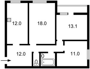 Квартира Героїв Сталінграду просп., 16в, Київ, Z-574026 - Фото2