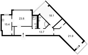 Квартира Коновальца Евгения (Щорса), 44а, Киев, Z-371611 - Фото2