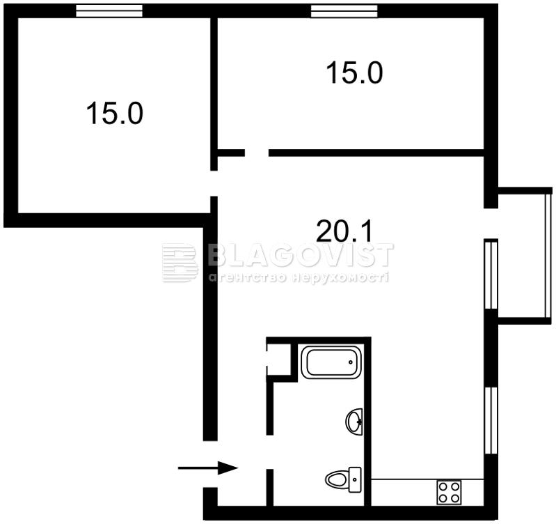 Квартира H-45672, Лесі Українки бул., 24, Київ - Фото 7