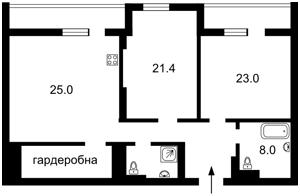 Квартира Ділова (Димитрова), 2б, Київ, M-36699 - Фото 2