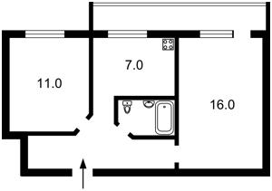 Квартира Тичини Павла просп., 12б, Київ, R-30143 - Фото2