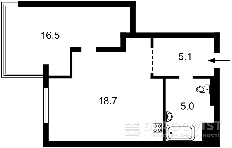 Квартира C-106983, Петрицкого Анатолия, 21а, Киев - Фото 3