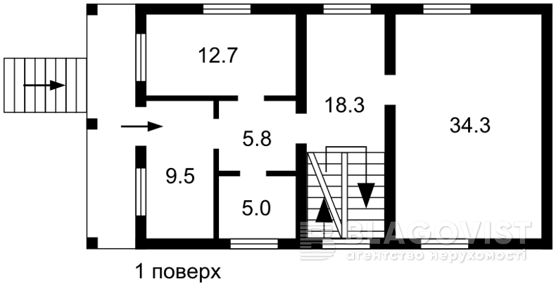 Дом F-42567, Белогородка - Фото 3