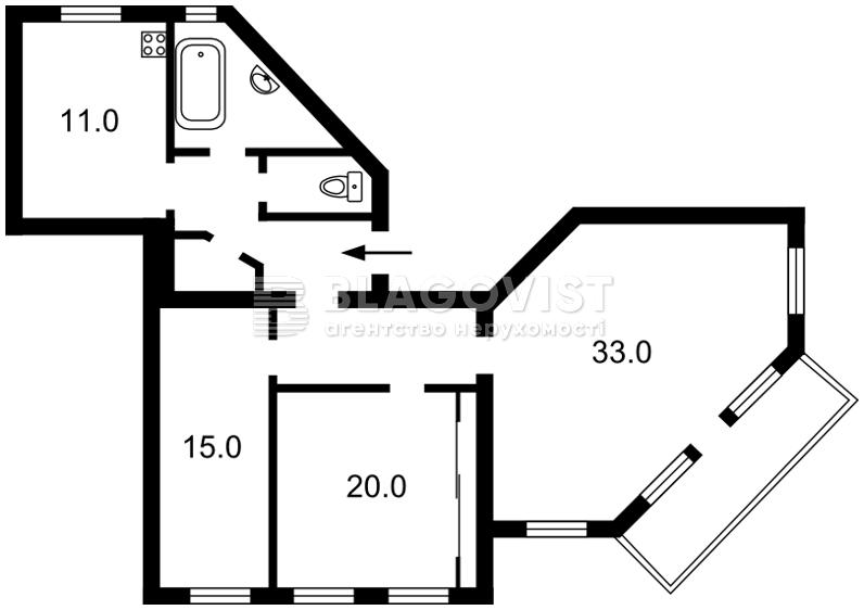 Квартира C-57365, Лютеранская, 27/29, Киев - Фото 5
