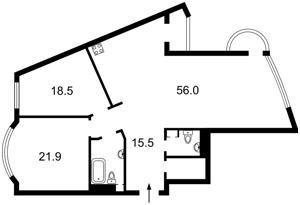 Квартира Старонаводницкая, 6б, Киев, D-35743 - Фото 2