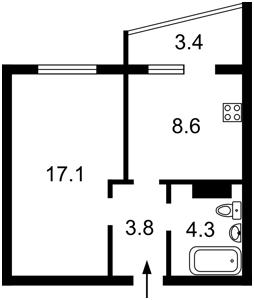 Квартира Софії Русової, 7, Київ, Z-512667 - Фото2
