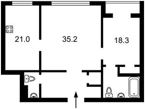 Квартира Хрещатик, 27б, Київ, H-45693 - Фото 2