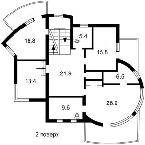 Дом Петропавловская, Софиевская Борщаговка, F-42514 - Фото 3