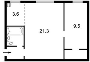 Квартира Тверський тупик, 6/8, Київ, Z-1096518 - Фото2