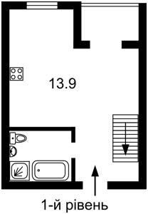 Квартира Придорожня, 3, Зазим'я, Z-610294 - Фото 2