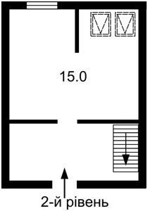Квартира Придорожня, 3, Зазим'я, Z-610294 - Фото 3