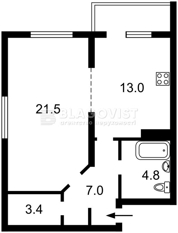 Квартира E-39036, Науки просп., 30, Київ - Фото 5