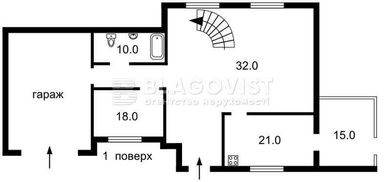 Будинок R-30100, Миру, Петропавлівська Борщагівка - Фото 4