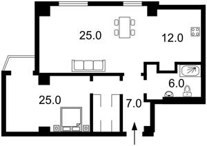 Квартира Курська, 13е, Київ, R-20399 - Фото2