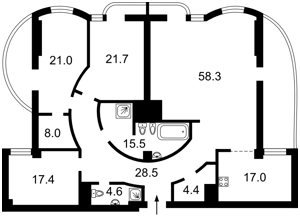 Квартира Зверинецкая, 59, Киев, R-31861 - Фото2