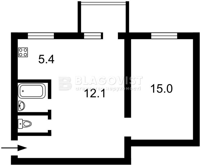 Квартира E-39046, Большая Васильковская, 41, Киев - Фото 4