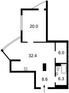 Квартира Глубочицкая, 32а, Киев, Z-599331 - Фото2