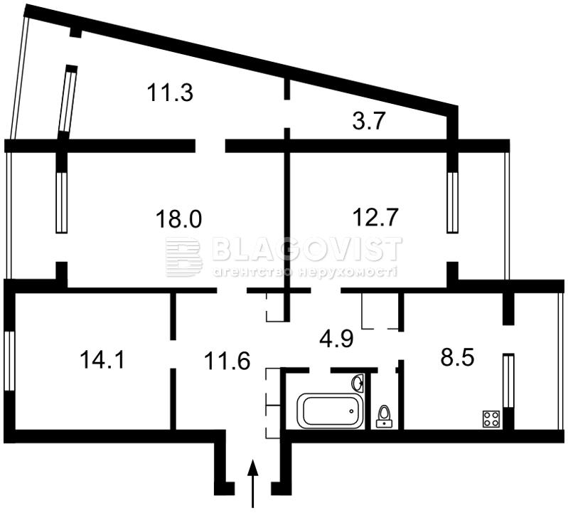 Квартира Z-521970, Закревського М., 5, Київ - Фото 6