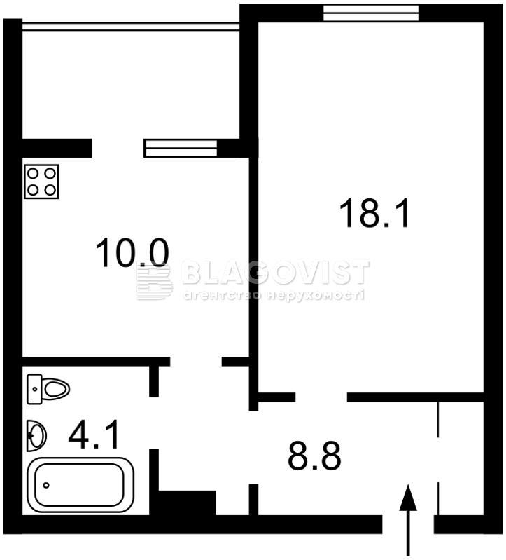 Квартира D-35767, Урловская, 38а, Киев - Фото 6