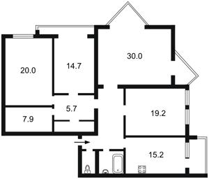 Квартира Урловская, 10а, Киев, Z-607139 - Фото2