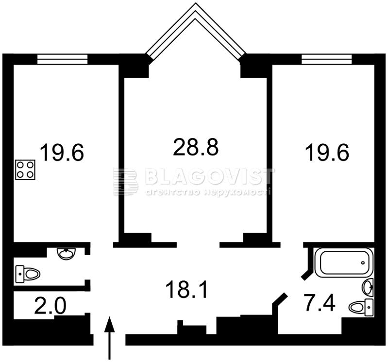 Квартира Z-600658, Драгомирова Михаила, 14а, Киев - Фото 5