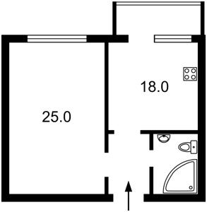Квартира Героїв Сталінграду просп., 8а, Київ, Z-601438 - Фото2