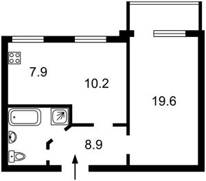 Квартира Академика Палладина просп., 18/30, Киев, C-102437 - Фото2