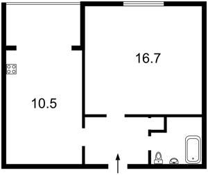 Квартира Антоновича (Горького), 156, Киев, Z-391133 - Фото 2