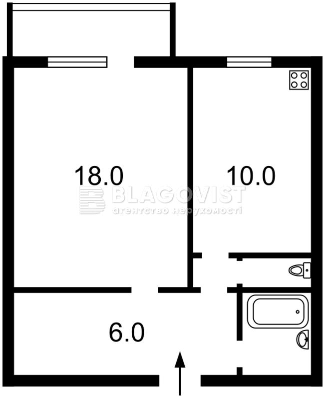Квартира E-29804, Леси Украинки бульв., 3, Киев - Фото 3