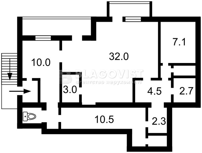 Квартира A-110855, Салютная, 4а, Киев - Фото 4