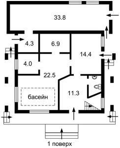 Дом Ясная, Киев, Z-93459 - Фото2