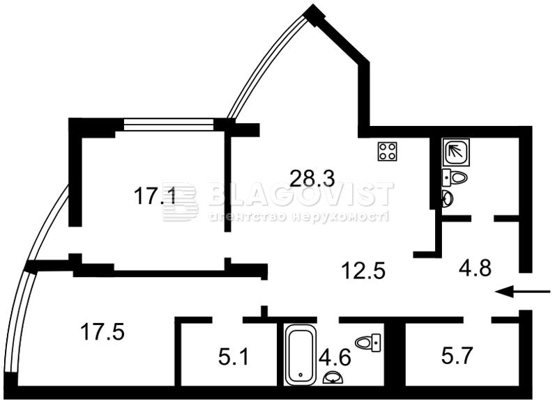 Квартира D-35821, Глубочицкая, 32в, Киев - Фото 5