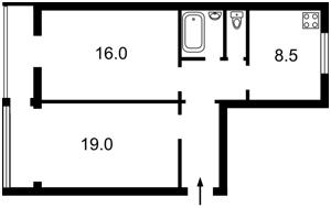 Квартира Победы просп., 27, Киев, Z-366111 - Фото 2