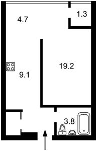 Квартира Глубочицкая, 13, Киев, M-36838 - Фото 2